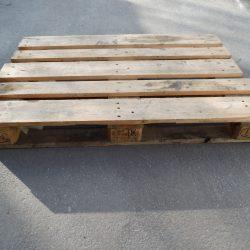 Europalette II. Wahl, EURO-Gitterboxen gebraucht, Maße: 120 x 80 x 97 cm, Gewicht: 85 kg, Tauschfähig gemäß UIC-Norm 435-3, Bild Ertan Alpaslan