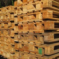 Europaletten Sonderverkauf gebrauchte Paletten, geprüft nach Regelwerk der EPAL